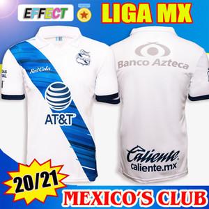 2020 2021 PUEBLA FC Camisas de futebol LIGA MX Home White Football uniformes de camisas Best Quality Camiseta de Futbol Kit 20 21 Soccer Jersey