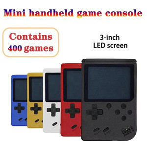 3 For Handheld Game Consoles 400 Console Handheld Retro Video Game IN 8 Gamepads Mini 1 Gift Players Inch Bit Kids Xlwjf