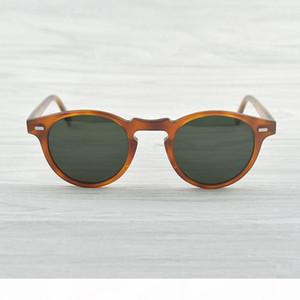 도매 - 그레고리 펙 브랜드 디자이너 남성 여성 선글라스 올리버 빈티지 Polarizs OV5186는 5186 일 안경 oculos 드 졸 OV 복고풍