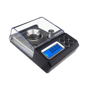 Escala de precisión 0.001g Contando digital Escala de carates 20G 50G Portátil Báscula de bolsillo escalas de joyería electrónica Balance de medicamentos