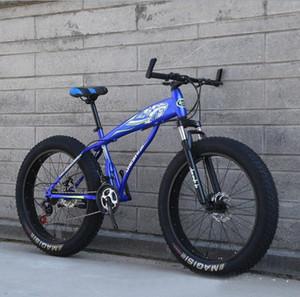 26 pouces 21 vitesse vélo de neige double disque frein vélo de vélo de vélo de roue à vélo fabriqué en Chine