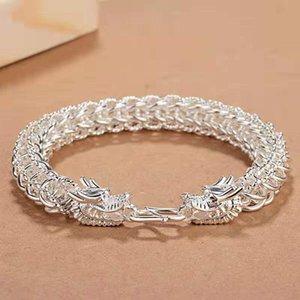 2020 domineering men's faucet bracelet designer men's 999 bracelet simple retro personality bracelet hot sale free shipping