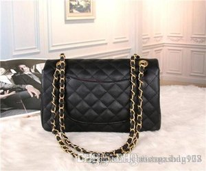 234113 2018Black chain fashion classic ladies single shoulder bag, free delivery. 543657215 335