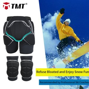 TMT 3D Hip Butt Protector EVA Guard Impact Pad Skiing Shorts Pants Knee Protective Ski Ice Skating Snowboard Knee Mat Protection