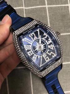 Der Umsatz FM Vanguard V45 Spitzenmarken-Männer Luxus-Uhren Mode-Qualitäts-Leder-Quarz-Uhr für Mann-beiläufige Kleid-Armbanduhr