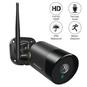 Jennov 1080P Wireless Wifi IP Camera Two-way Audio IR-Cut Night Vision P2P SD Card CCTV Outdoor Video Surveillance Waterproof