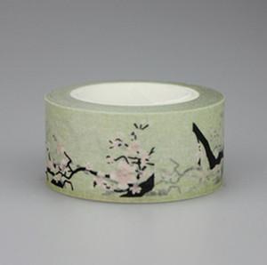 Drucken dekorative Blumen Diy Aufkleber Japanische Klebeband Masking Tapes