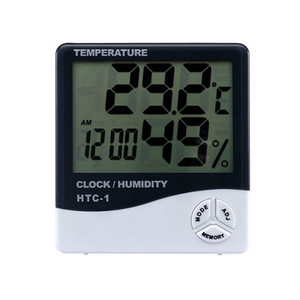 Digital Temperature and Humidity Meters Multi-functional Thermometers Indoor Hygrometers with Retail