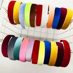 bsNX6 creativa New coreano copricapo di velluto copricapo semplice tutto-fiammifero fascia online RED nuovo copricapo fascia