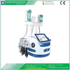 360 ° Zeltiq Coolsculpting Liposuction Cavitation RF Cryolipolysis Haut straffen Fat Dissolving Weight Loss Abnehmen Detox-Salon-Ausrüstung