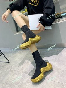 2020 new fashion socks and boots 6-layer combination TPU and vacuum, shock absorption effect and comfort are excellent, size 36-40
