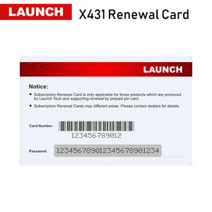 Launch Renewal Card Update Card Pin card Extend 1 2 years' update time for x431 v+ v pros mini pro mini pro pros pro3s HD Diagun