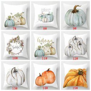 Pumpkin Cushion Cover Happy Halloween Pillow Covers Cartoon Home Decor Soft Peach Skin for Sofa Bed Decorative Pillow Case 45x45cm BC BH4114