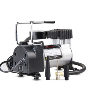 DC 12V Car Electric Inflator Pump Single-cylinder Auto Tire Air Compressor with Tyre Pressure Monitor