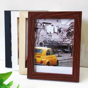 Natural Wood Photo Frame For Wall Classic Picture Frame Poster Picture Wall For Living Room Home Decor