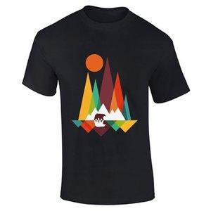 Hommes Garçons Bear Mountain Lot Vêtements de Danse Nouveauté Fitness Tee Funky T-shirt Top fierté Refroidir Casual hommes t-shirt unisexe New Mode