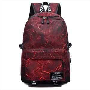 New School Backpack For Boys Girls Graffiti Pattern Backpacks Large Capacity Student School Bag For Teenage Travel Bag Mochila