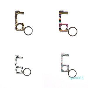 Ouvre-porte Kirsite Porte-clés Anti contact démarreur Boucle Clés Bouton d'écran tactile Closer outil pratique Carry 12wt B2