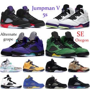 2019 Cool Grey 4 4s Zapatillas para hombre Bred Cactus Jack Green Grow Military Blue Alternate 89 Zapatillas de deporte para hombre Sneakes 7-13