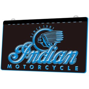 LS087- Indian Motorcycle Services Logo Neon Light Sign Decor Free Shipping Dropshipping Wholesale 8 colors to choose