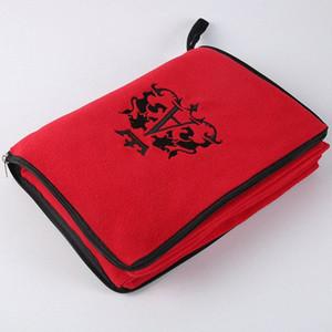Personalizzato Nap bagagli Coperte Adult Children doppio fronte Velvet Full Digital Printing ricamo Coperta pubblicità ai regali personalizzati Logo I06h #