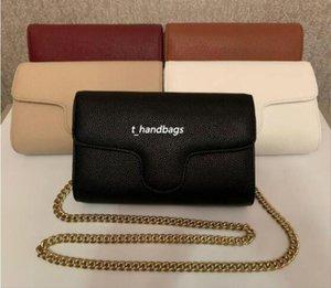 Высочайшее качество тиснение 5 цветов Женская вечерняя сумка на плечо золотая цепь Crossbody чистая цветная сумка \ мессенджер