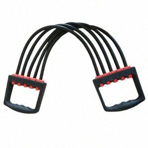 Super sellGym de Fitness Equipamentos de Fitness Suprimentos ajustável Pull 5Spring Rubber Supino Maca Muscle Training Peito Expandir aHdd #
