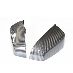1 pair High quality Original Carbon fiber Mirror cover For B-MW 5 Series E60 F07 Rearview Mirror cover Car accessories 2007-2009