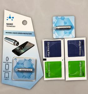 حامي المحمول 1ML السائل نانو مرحبا التكنولوجيا حامي شاشة 3D منحني حافة الشاشة المضادة للخدش الحرس كامل الجسم ل iPhone x سامسونج S9