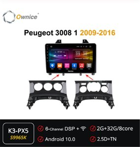 Ownice Octa 8 Core Android 10.0 DVD player Headunit Audio Navi for 3008 1 2009 - 2020 4G DSP Optical 360 Radio car