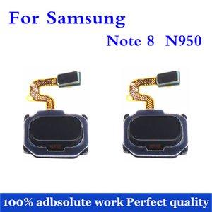 Para la nota N950 8 N950F N950U N950N Inicio botón táctil de identificación de huellas dactilares Sensor Flex Cable piezas de reparación