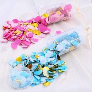 Kağıt Pushing Konfeti Düğün Dekorasyon Kağıt İtme Tüp Sharking Kağıt Dekorasyon DIY İtme-Pop Deniz Kargo IIA498 Malzemeleri