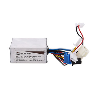 24V 250W DC Electric Bike Motor Brushed Controller Box for Electric Bicycle Scooter E-Bike Accessory