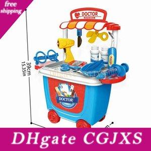 Los niños chicos médica caja del kit doctor Nurse Juegos de rol juguete de aprendizaje regalos Conjunto de rol Juego de Niños '; S juguete educativo