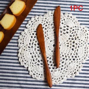 Spreader Wooden Cut Sweets Dessert Cutlery Party Supplies Cheese Butter Jam Cake Bakeware Knife