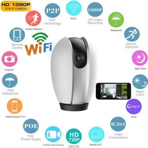 Smart Security Camera 1080P 2MP Pan-Tilt Wireless WIFI IP 2 Way Audio Home Camera