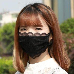 Bud Silk Mask Dusk Riutilizzabilità Moda maschere Lavato adulti Lady Estate evitare che la polvere di cotone maschera OWC1195