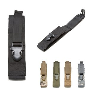 Wholesale 100pcs lot Tactical Flashlight Holster Nylon Pouch Holder Belt