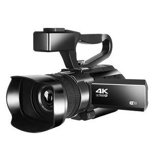 4K Video Kamera 48MP WIFI 30X Dijital Zoom 3,0 inç Ultra HD Dokunmatik Ekran Kaydedici Fotoğrafçılık Dijital Video Kamera