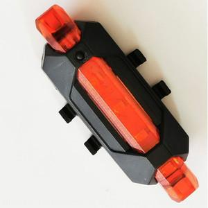 Chargement de l'équipement d'équitation de vélo Tail nuit équitation sécurité LED avertissement lumière feux arrière de vélo VTT