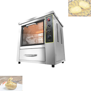 Baked potato chips machine Chicken Rotisserie Grilled Oven Electric Sweet Potato Corn Roasting Machine Potato
