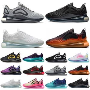 Sé nueva venta zapatos para correr cierto para los hombres las mujeres del orgullo triple de la puesta del sol negro atléticos mens entrenadores deportivos zapatillas de deporte de los corredores de tamaño 36-45