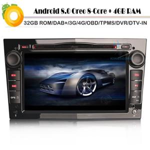 Double Din Car Radio pour Meriva Signum Android 8.0 DAB + RAM Bluetooth DVR DVB-T WIFI 4G / 3G SWC OBD DTV DCD CD RDS BT SD OBD