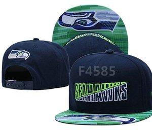 Верхнее качество Дешевые Snapback Seattle Cap SEA классическая кость Футбол Cap Вышитые Team Размер Фаны FlatCurved Брим для взрослых шляпа шапка a6