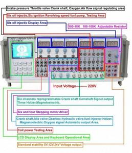 Simulation de signal de signal de l'écu 2018 Simulation de l'ECU 9000 MST 9000+ Outil de réparation ECU de voiture MST9000 + avec logiciel BSAW #