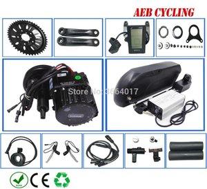 무료 세금 의무 팔방 BBS-HD 48V 1000W 중반 사천 자전거에 대한 호랑이 상어 16.5Ah 리튬 이온 배터리 팩과 모터 키트 크랭크