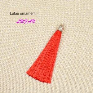 Lufan Chinese knot earrings earring earring alloy hat small Chinese Knot Tassel ear accessories clothing earrings pendant ear OtgvB