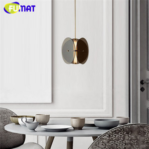 FUMAT Modern Acrylic Pendant Hanging Lamp LED Glass Chandelier Nordic Lighting Fixtures for Home Indoor