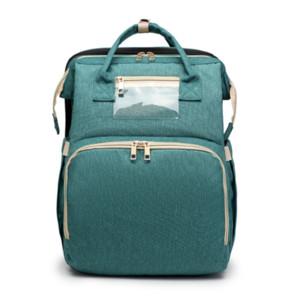 Travel Diaper Bag Moms and Dads Backpack Multifunctional Baby Bed Bags Maternity Nursing Handbag Stroller Bag Drop Shipping