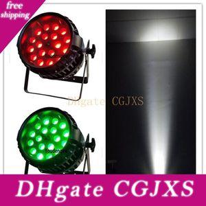 2 개 RGBW IP 65 항의 방수기구 RGBW 4 In1에 LED 파 라이트 18 10w LED PAR 줌